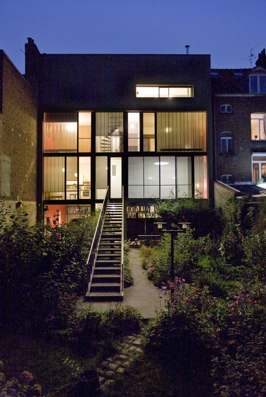 maison de ville lille fr zigzag architecture. Black Bedroom Furniture Sets. Home Design Ideas
