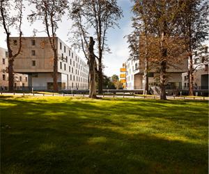Logements étudiants + professeurs invités Campus Universitaire EDHEC à Croix-Roubaix