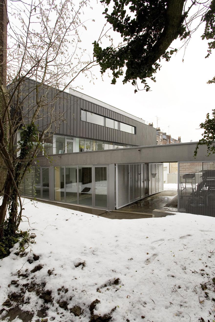 maison du quartier lille be zigzag architecture
