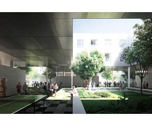 Résidence étudiante à Saclay 1049 logements