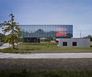 Structure d'accueil d'entreprises à Enghien