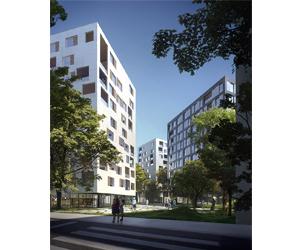 168 Logements, Parking et Équipement Sportif  à Lille